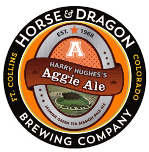 Marketing through collaboration between Katie O'Hara (Jet Marketing) and Horse & Dragon Brewing Company to create the Harry Hughies's Aggie Ale