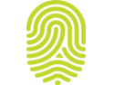 Green branding thumbprint icon