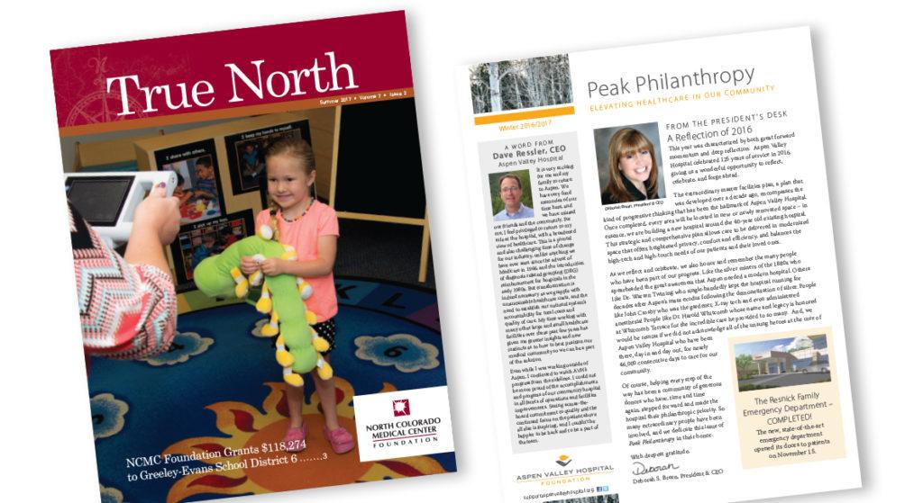 Northern Colorado Medical Center custom donor publication