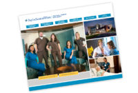BaylorScott&White Medical Center McKinney Magent homepage design created by Jet Marketing