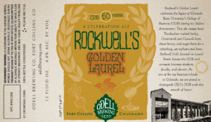 Rockwell's Golden Laurel marketing through collaboration ad