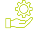 Green project support icon