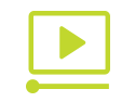 Green video production icon
