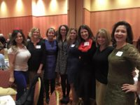 Jet Marketing staff at the Women Give conference with other guests